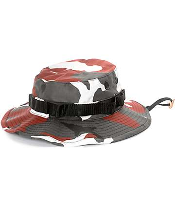 Rothco Boonie Red Camo Bucket Hat
