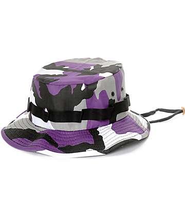 Rothco Boonie Ultra gorra bucket camuflada en morado