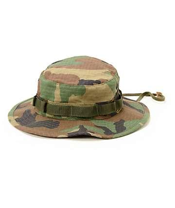 Rothco Boonie Woodland Camo Ripstop Bucket Hat