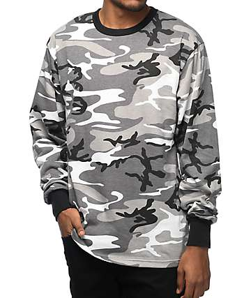 Rothco City Camo Long Sleeve T-Shirt