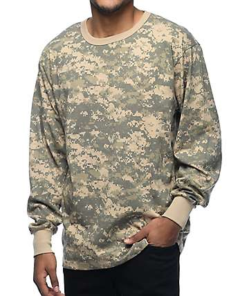 Rothco Digi ACU Camo Long Sleeve T-Shirt