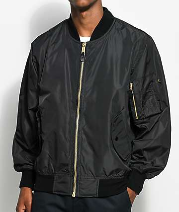 Rothco MA-1 Black Or Orange Reversible Bomber Jacket