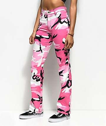 Rothco Pink Camo Stretch Pants