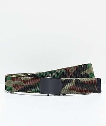 Rothco Reversible Woodland Camo Web Belt