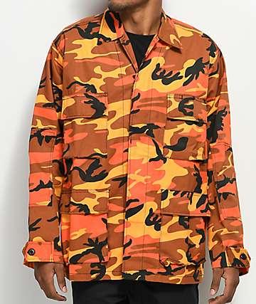 Rothco Tactical BDU Savage Orange Camo Shirt