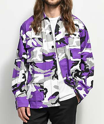 Rothco Tactical BDU Ultra Violet Camo Shirt