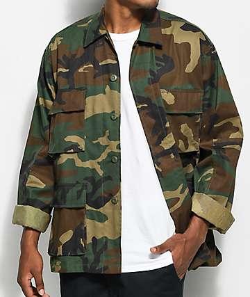 Rothco Tactical BDU camisa camuflada