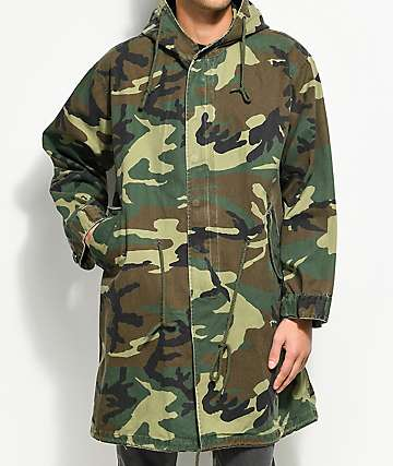 Rothco Vintage M-51 Camo Fishtail Parka Jacket