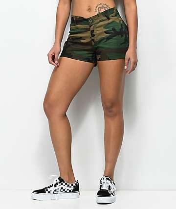 Rothco Woodland Camo Shorts