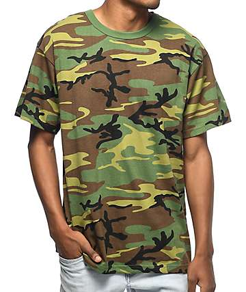 Rothco Woodland camiseta camuflada