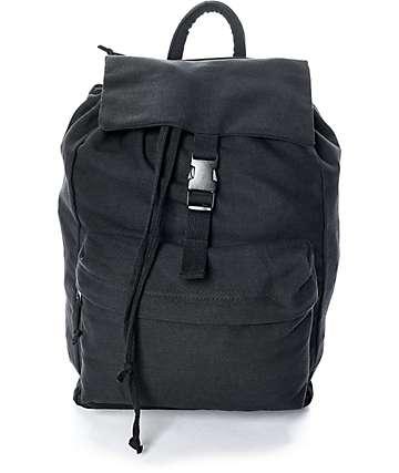 Rothco mochila de lienzo negro