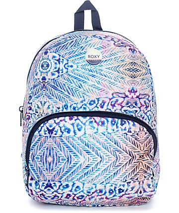 Roxy Always Core Blue Multi Mini Backpack