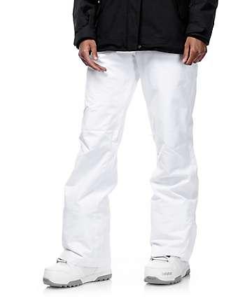 Roxy Backyard 10K pantalones de snowboard en blanco