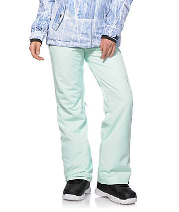 Roxy Backyard Mint 10K Snowboard Pants