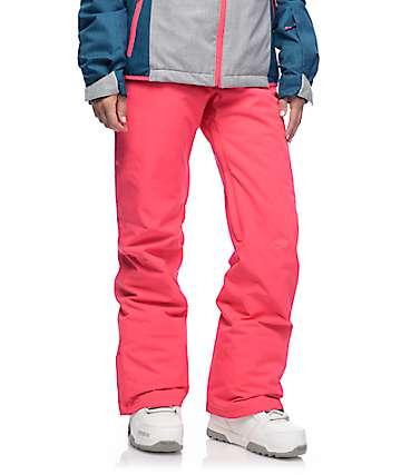 Roxy Backyard Paradise Pink 10K Snowboard Pants