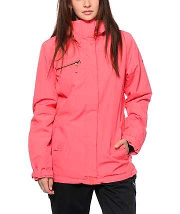 Roxy Band Camp Diva Pink 10K Snowboard Jacket