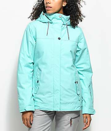 Roxy Billie Aruba Blue 10K Snowboard Jacket