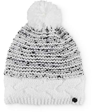 Roxy Cheerful Marled Pom Beanie