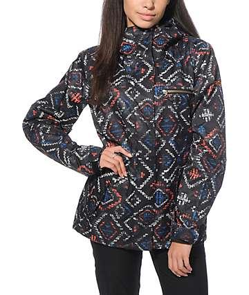 Roxy Jetty 3N1 Ikat 10K Snowboard Jacket