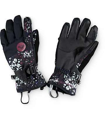 Roxy Jetty Ditsy Floral Snowboard Gloves