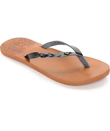 Roxy Liza Black Sandals