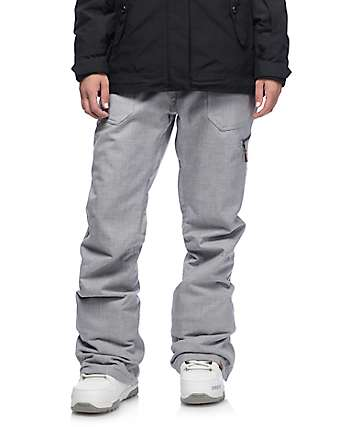 Roxy Nadia Medium Grey 10K Snowboard Pants