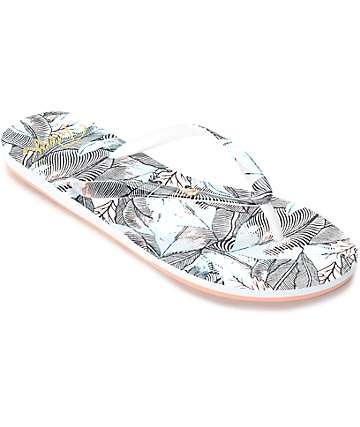 Roxy Portofino sandalias en gris oscuro