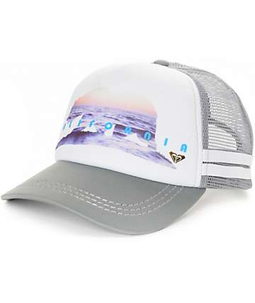 Roxy Shine The Light Dig This Trucker Hat