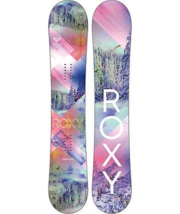 Roxy Sugar BT 138cm tabla de snowboard para mujeres