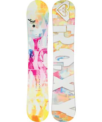 Roxy Sugar Banana 146cm tabla de snowboard para mujeres