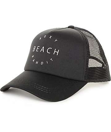 Roxy Truckin True Black Trucker Hat