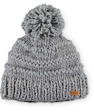 Roxy Winter Pom Beanie