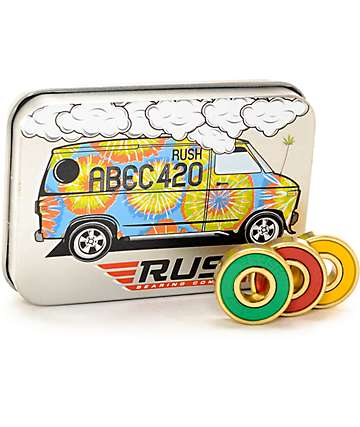 Rush Abec 420 Skateboard Bearings