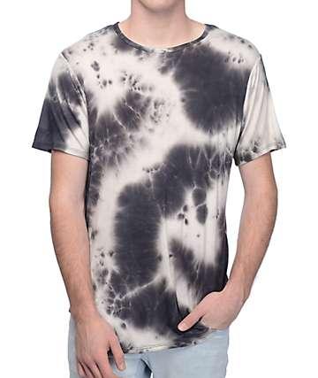 Rustic Dime Black Marble Tie Dye T-Shirt