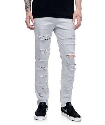 Rustic Dime Blue Haze pantalones rotos estrechos