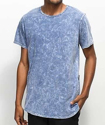 Rustic Dime Denim Tie Dye Tall T-Shirt