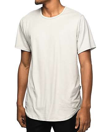 Rustic Dime Frost camiseta alargada de ante falso