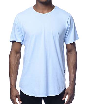 Rustic Dime Long Light Blue T-Shirt