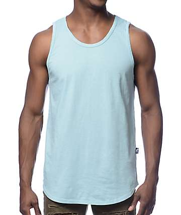 Rustic Dime Long Mint Tank