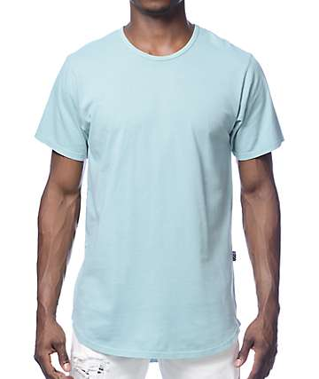 Rustic Dime Long Solid Mint T-Shirt