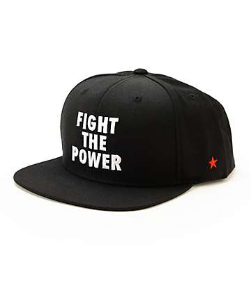 SSUR Fight The Power Snapback Hat