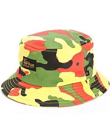 SSUR Irie Camo Bucket Hat