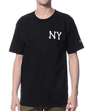 SSUR NY Bones Black T-Shirt