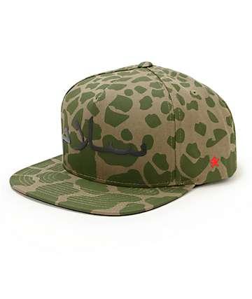 SSUR Peace Pumo Camo Snapback Hat