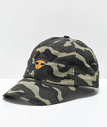 SUCC Lil Mayo Camo Strapback Hat
