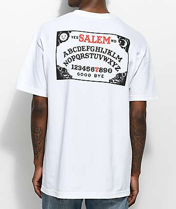 Salem7 Ouija Board White T-Shirt