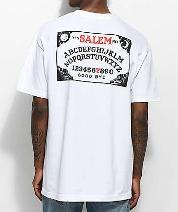 Salem7 Ouija Board White T-Shirt
