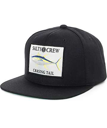 Salty Crew Ahi Black Snapback