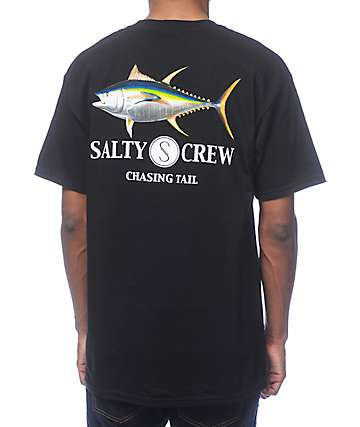 Salty Crew Ahi Black T-Shirt