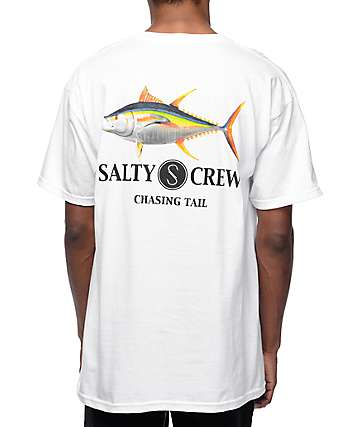 Salty Crew Ahi White T-Shirt